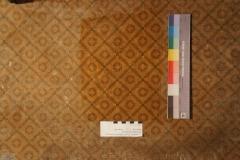 Linoleum mit Rautenmuster