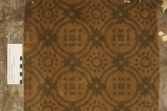 Linoleum mit Ornamentmuster